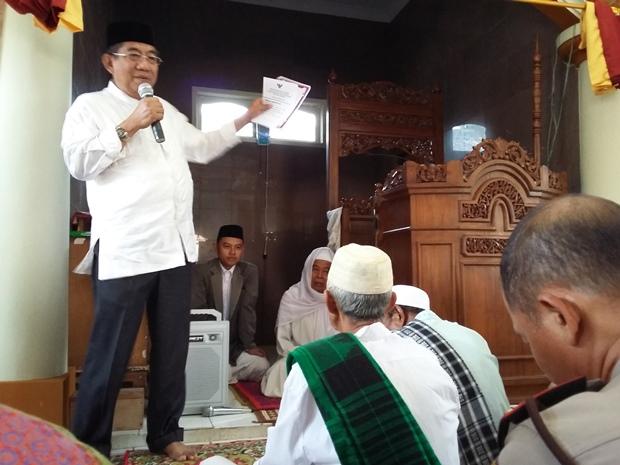 Hermansyah Paparkan 25 Program Unggulan Pemkab Tangerang ke Warga Jambe