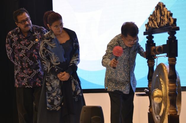Wakil Presiden Buka Pameran Indonesian Aquaculture