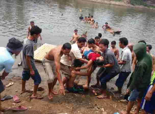 Dua ABG Tewas Tenggelam di Kampung Dukuh