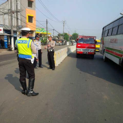 Urai Kemacetan, Polresta Tangerang Koordinasi dengan Pemangku Kebijakan