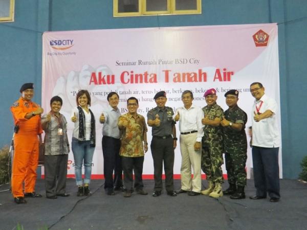 Rumah Pintar BSD City dan Kodiklat TNI  Ajak Pelajar Cinta Tanah Air