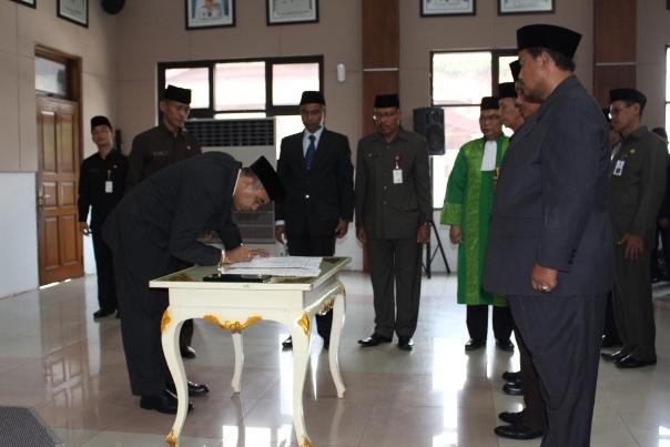 Teteng Jumara Jabat Kepala Dindik Kabupaten Tangerang