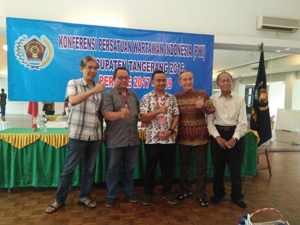 Sangki Wahyudin, Nakhoda Baru PWI Kabupaten Tangerang