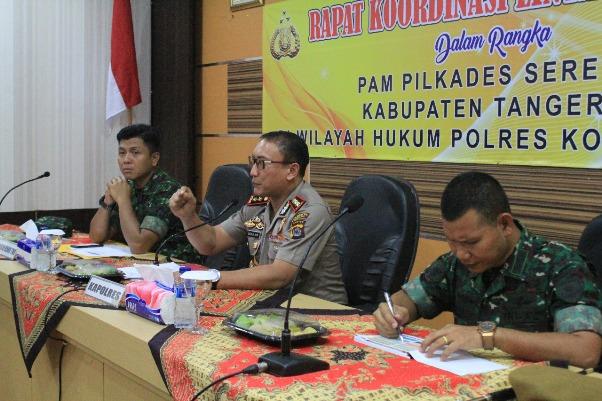Amankan Pilkades, Polresta Tangerang Terjunkan 200 Brimob