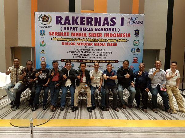 SMSI Banten Paparkan Program Kerja Daerah di Rakernas I
