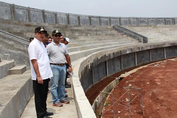 Zaki Bangun Stadion Mini Kecamatan Untuk Masyarakat