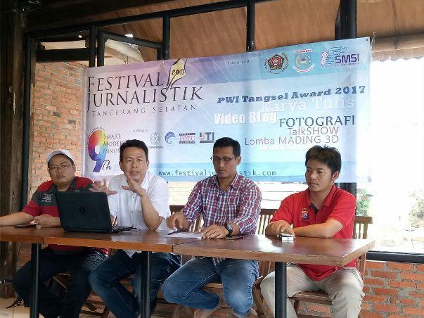 Festival Jurnalistik Tangsel 2017 Resmi  Dilaunching