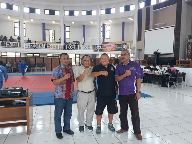 Kejuaraan Judo Antar Pelajar Tingkat Provinsi Digelar di Kitribakti