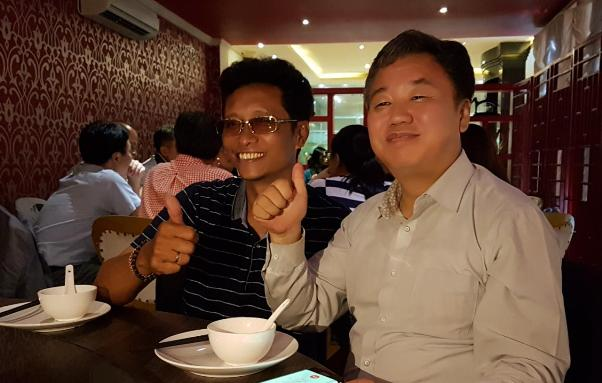 Delegasi Wartawan Korea Disambut Ketua PWI dan Ketua SMSI Bali