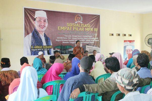 Ahmad Subadri Ingatkan Pentingnya Mengamalkan Empat Pilar MPR RI