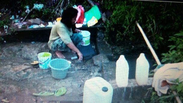 Musim Kemarau, Warga Karangtengah Kesulitan Air Bersih