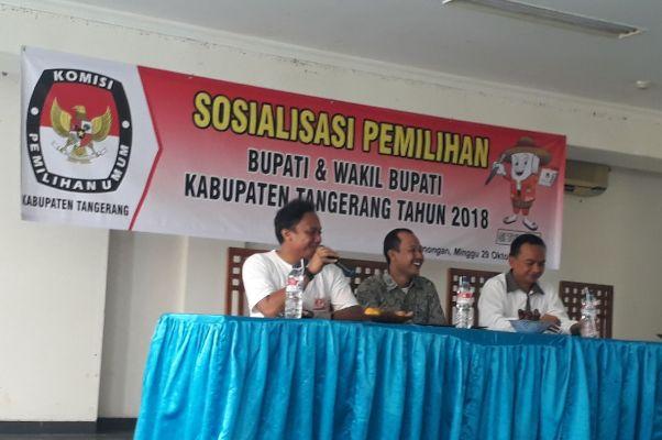 KPU  Kabupaten Tangerang Gencarkan Sosialisasi Dongkrak Partisipasi Pemilih