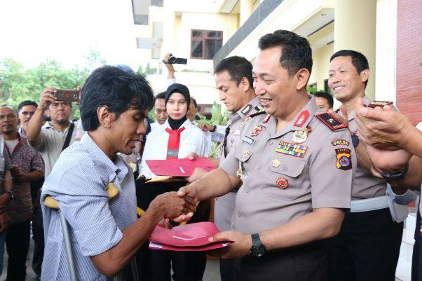 Polda Banten Kembalikan 8 Kendaraan Curian ke Pemiliknya