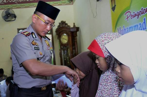 Peringatan Maulid Nabi, Kapolresta Tangerang Ajak Anggota Teladani Rasul