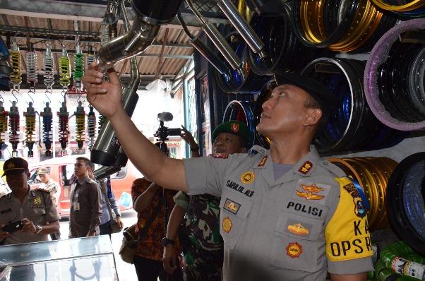 Jelang Tahun Baru, Polisi akan Razia Motor Knalpot Brong