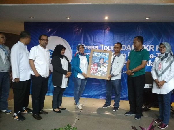 Insan Pers se-Tangerang Raya Ikuti Press Tour PDAM TKR