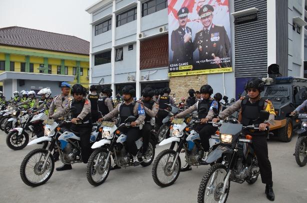 Jaga Kondusifitas Ramadhan, Kapolresta Tangerang Pimpin Patroli Motor