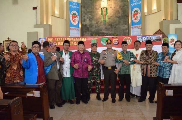 Jelang Pilkada, Kapolresta Tangerang Gelar Doa Bersama Lintas Agama