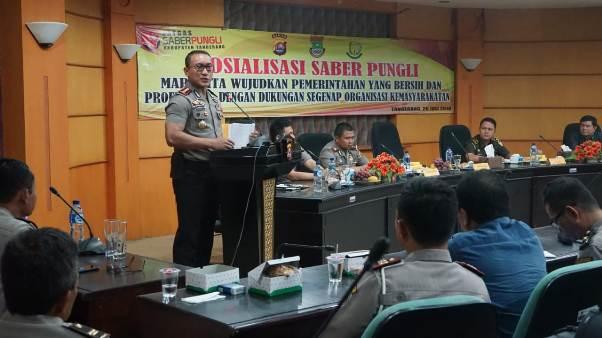 Kapolresta Tangerang Ajak Ormas Berantas Pungli