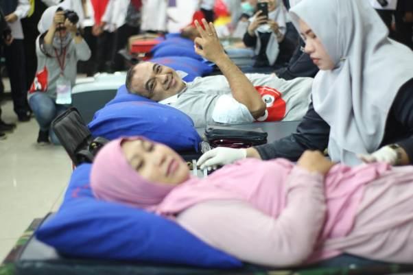 Bupati Tangerang Ajak Generasi Milenial Peduli Sesama dengan Donor Darah