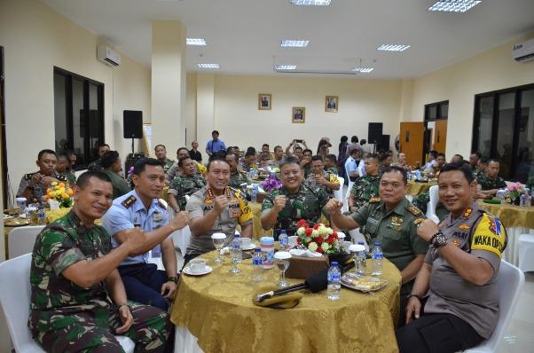 Perwira TNI-Polri se-Tangerang Siap Sukseskan Pemilu 2019