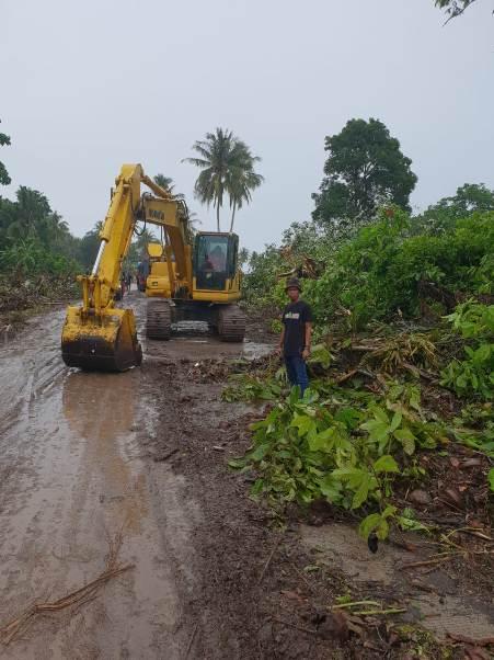Tim Terpadu Diterjunkan ke Lokasi Terdampak Tsunami di  Kecamatan Sumur