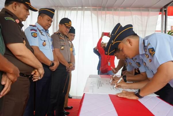 Tiga Institusi di Tangerang Teken Komitmen Bebas Korupsi