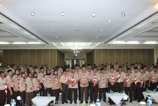 Wakil Bupati Tangerang Buka Rakercab Pramuka