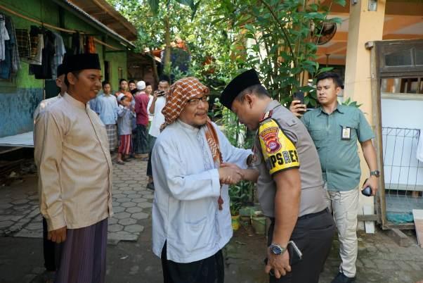 Pejabat  Polda Banten Sowan ke Ulama Balaraja