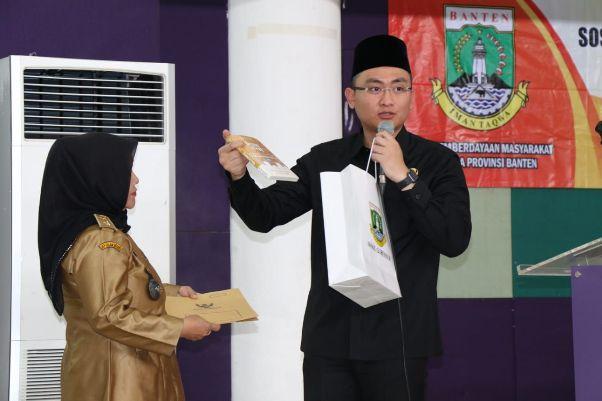 Pemprov Banten Guyur  Desa Rp 50 Juta untuk Infrastruktur