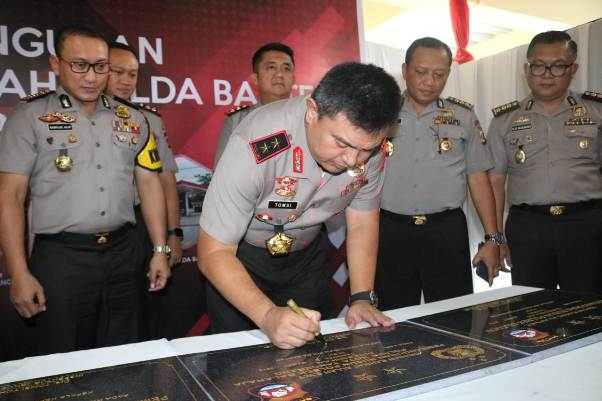 Kapolda Banten Resmikan Rusun Polres Kota Tangerang