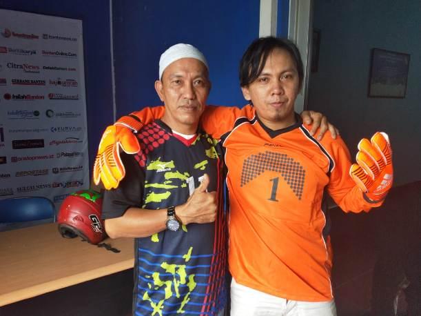 Pererat Silaturahmi, SIWO PWI dan Polda Banten Gelar Pertandingan Sepakbola
