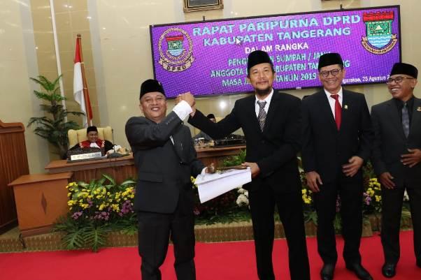 Anggota DPRD Kabupaten Tangerang Periode 2019-2024 Diambil Sumpah Janji: 28 Orang  Wajah Lama, 22 Orang Wajah Baru