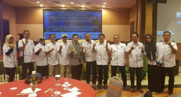 Pengurus SMSI Kalimantan Selatan Periode 2019-2024 Resmi Dilantik