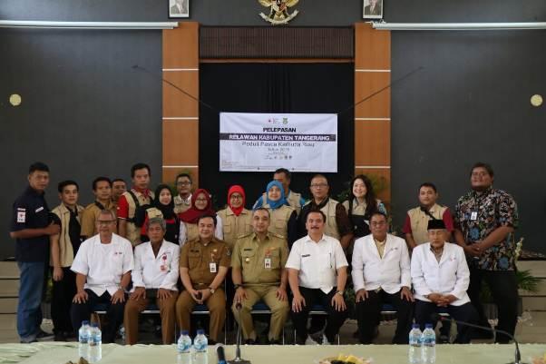 Pemkab Tangerang Kirimkan Relawan Pasca Karhutla Riau