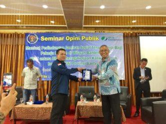 BPJS Ketenagakerjaan Gandeng PWI Banten Gelar Seminar Bagi Pekerja Rentan