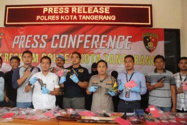 Polisi Bekuk Penjual Senjata Api Rakitan di Pasar Kemis
