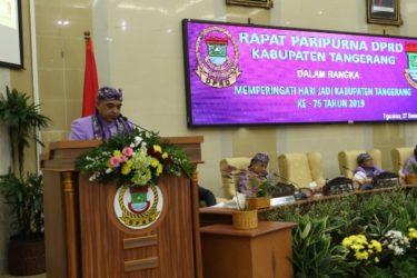 HUT ke-76: Ketua DPRD Apresiasi Capaian Pemkab Tangerang