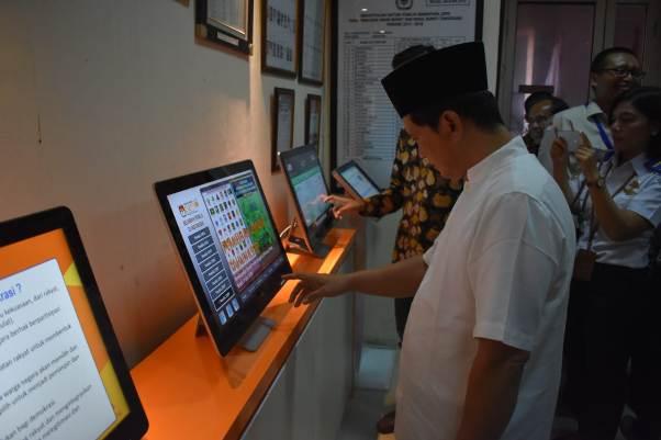 KPU Kabupaten Tangerang Resmikan Rumah Pintar Pemilu  'Aria Wangsakara'