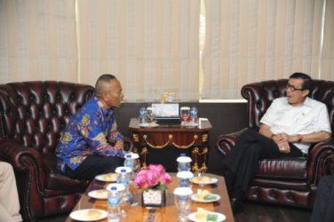 Usai Bertemu Panitia HPN,  Menteri Hukum dan HAM akan  Hadiri  Puncak  HPN 2020 di Kalsel