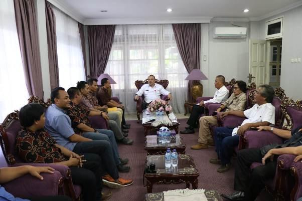 Bupati Tangerang  dan PWI Komitmen Bangun Pers Makin Profesional