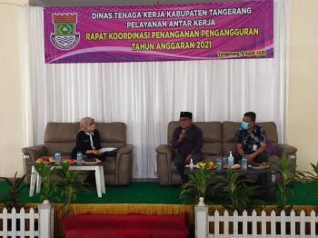 Tekan Pengangguran, DPRD Kabupaten Tangerang Usulkan Disnaker Buat Aplikasi 'Siapkerja'