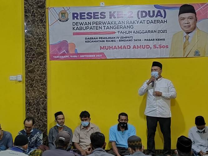 Reses Anggota DPRD Kabupaten Tangerang: Warga Rajeg Minta Kuota Vaksin Ditambah